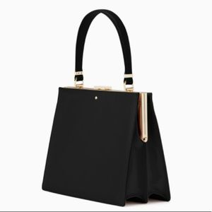 Kate spade Madison Moore road chari black satchel